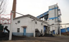 山西省忻州原平市晋龙洗煤厂500吨煤泥烘干机