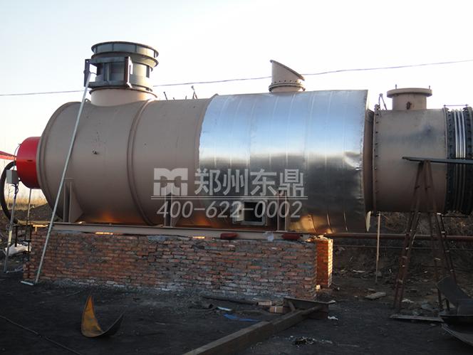 燃气煤泥烘干机