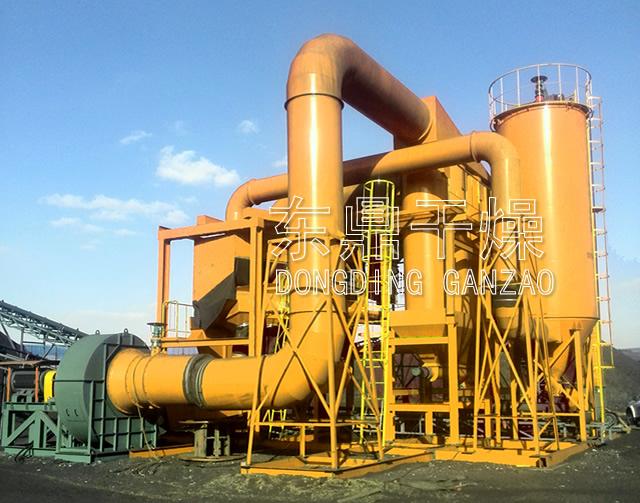 内蒙古干法选煤设备现场