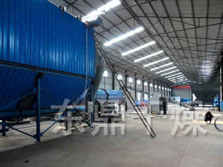 平顶山市亿佳煤香贸易有限公司15万吨煤泥烘干机