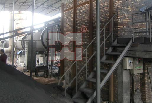 四川泸州晶源商贸有限责任公司500吨煤泥烘干机