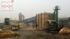 江苏辉威能源有限责任公司1200吨煤泥烘干机