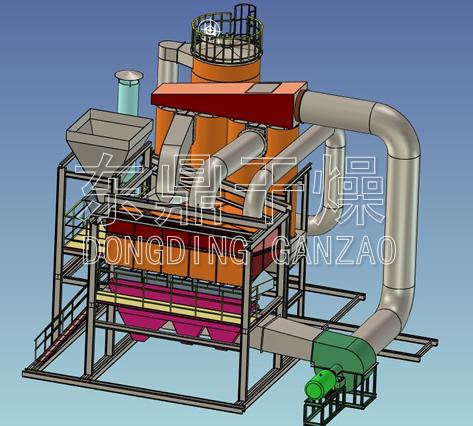 高效复合式干法选煤设备