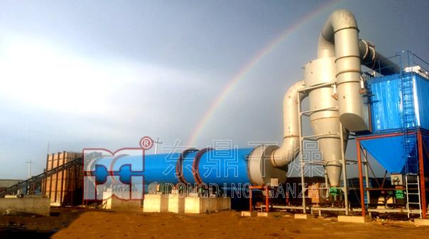 佳隆旺1200吨煤泥烘干机项目