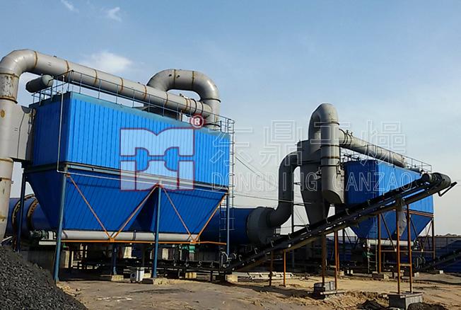 山西佳隆旺洗煤厂2套1000吨大型煤泥烘干机项目