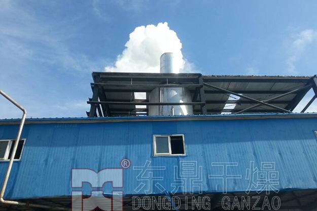 高温燃煤热风煤泥烘干机