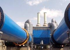 内蒙古欣昱集团日处理2000吨煤泥烘干机设备